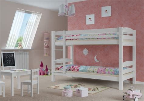 bett fallschutz kinderstockbett etagenbett kiefer massiv wei 223 90x200 cm