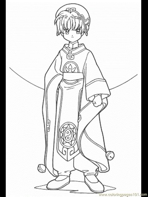 Cardcaptor Coloring Pages by Cardcaptor Coloring Pages Coloring Home