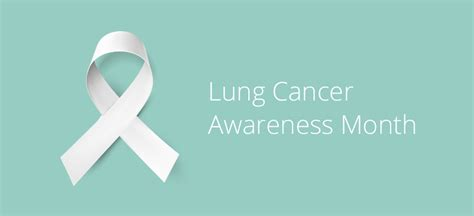 lung cancer awareness month november is lung cancer awareness month be informed