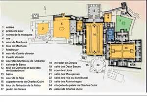 info plan de grenade alhambra voyages cartes