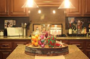 Kitchen Island Centerpiece Ideas Decorating Ideas For The Holidays Personal Creations