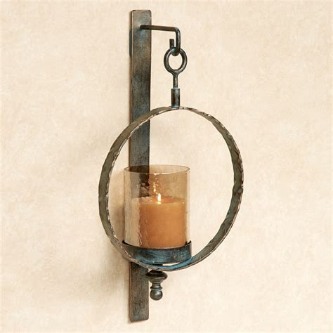 Metal Wall Sconces Acadiah Hurricane Metal Wall Sconce