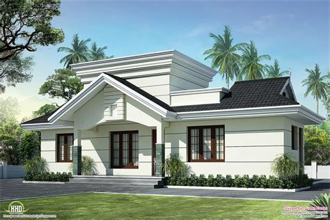 home plans designs photos kerala nano home plan and elevation in 991 square feet kerala