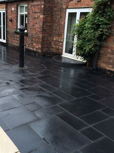 Black Limestone Patio Slabs by Midnight Black Limestone Kota Black Limestone Slabs