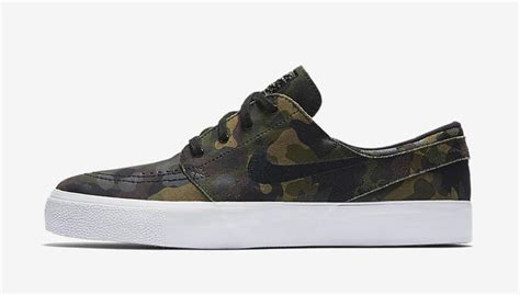 Nike Stefan Janosky Camo nike sb zoom stefan janoski camo sneaker bar detroit