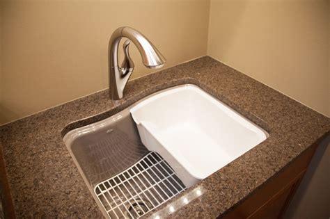 Kohler Laundry Room Sink Designers Point Kohler River Falls Utility Sink Transitional Utility Sinks Chicago By