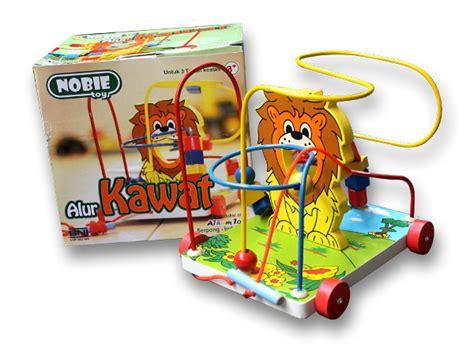 Mainan Alur Kawat Rumah Kelinci jual mainan kayu edukasi