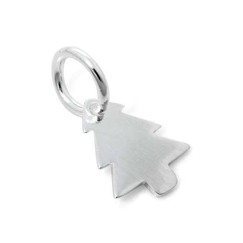 sterling silver christmas tree charm thecharmworks com