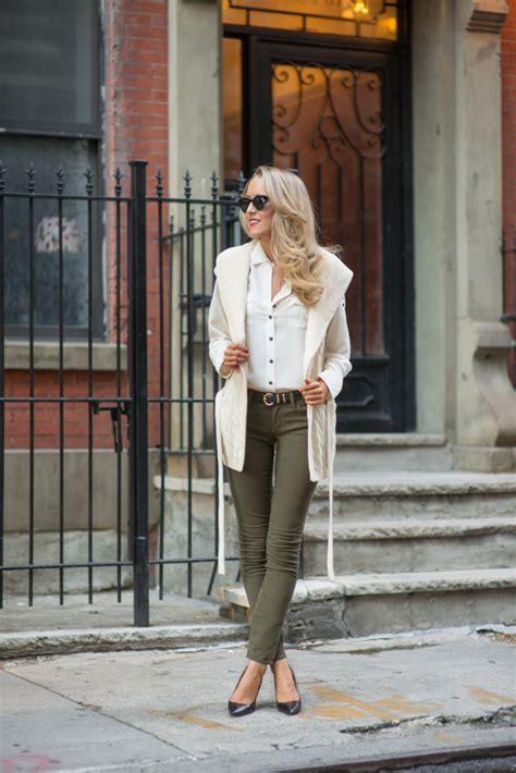 Moslem Wear Vest Khaki how to style your chiffon blouse glam radar