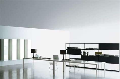 sleek work spaces porro proves minimal furniture yields