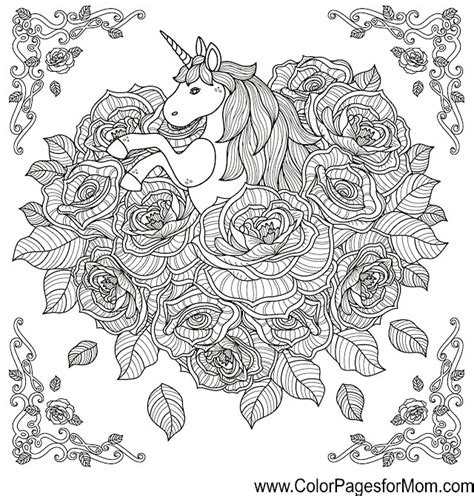 unicorn coloring book for advanced coloring pages for tweens detailed zendoodle animal designs patterns tale practice for stress relief relaxation books animals 89 advanced coloring pages