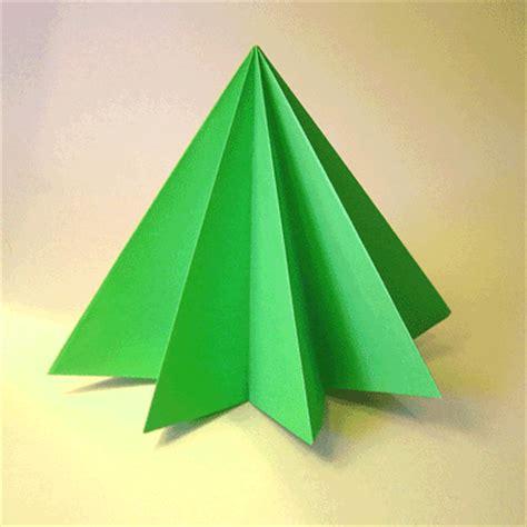 Origami Möbel 3473 by Crea Con La Carta Un Bel Pino Origami Per Natale E Fai