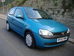 Vauxhall Corsa 1 2 Blue 2002 Vauxhall Corsa Photos Informations Articles