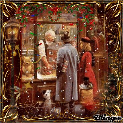 vintage christmas shopping toy shop  day  christmas dididd picture