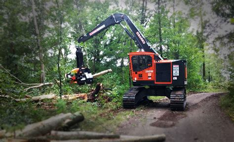 hyundai 260w equipment spotlight harvesters wood business