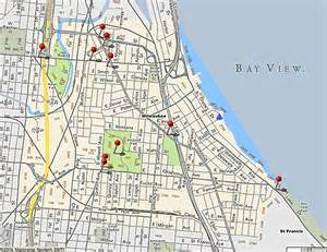 view map bay view 171 the bay view historical society