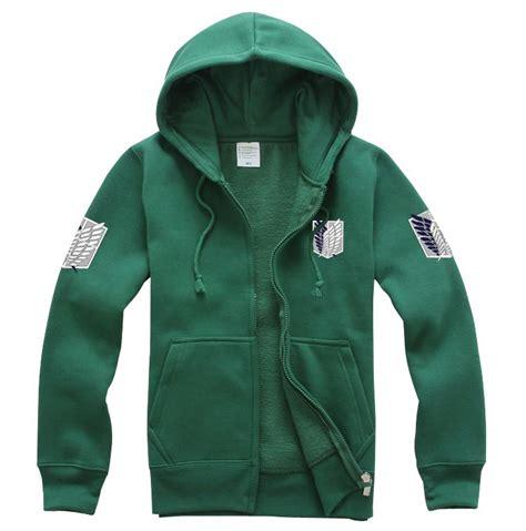 Sweater Attack On Titan Hitam Navy T0210 uk attack on titan shingeki no kyojin costume hoodie jumper jacket