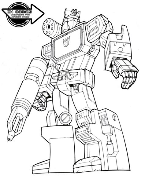 transformers g1 coloring page operation soundwave g1 by jetblack0x on deviantart