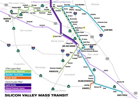 san jose light rail map file vta light rail svg