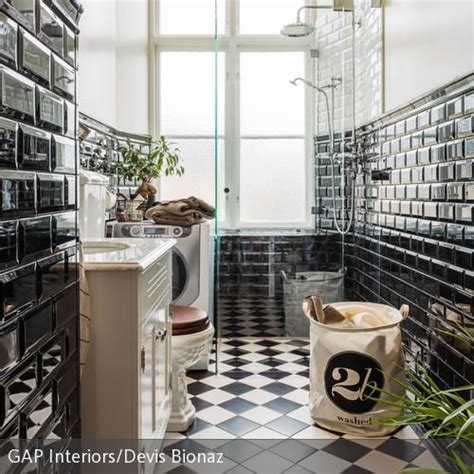 Schwarzes Badezimmer Das Ideen Verziert by 220 Ber 1 000 Ideen Zu Fliesen Schwarz Auf