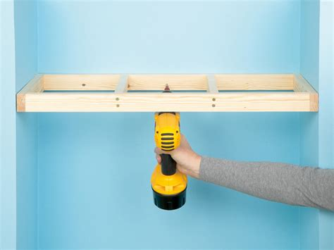 How To Put Up A Floating Shelf by Custom Shelving Done 4 Ways How Tos Diy