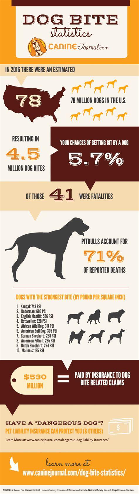 attack statistics bite statistics caninejournal