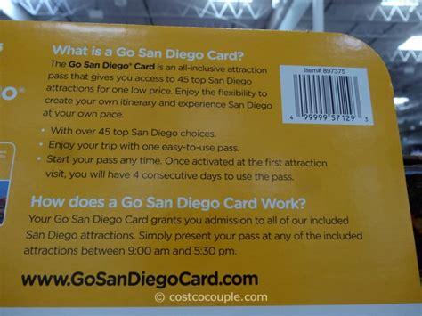 go san diego gift card - San Diego Gift Card