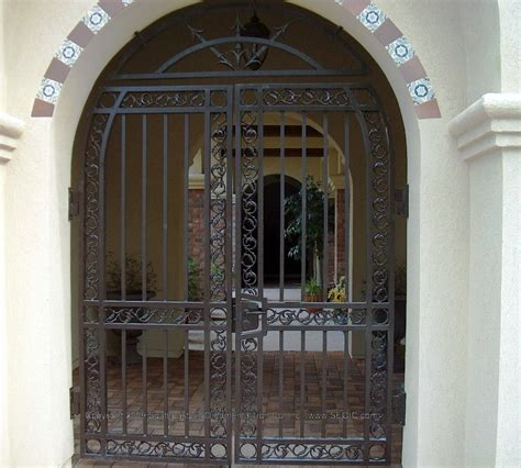front doors beautiful iron gate front door 144 iron gate
