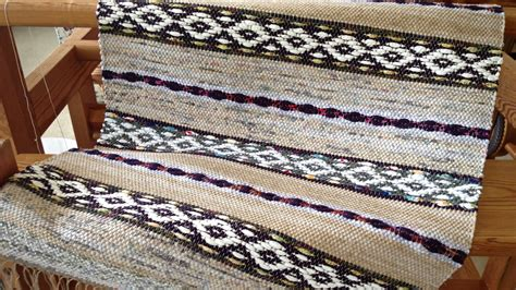 Rug Warp by Three Rosepath Rag Rugs For Now Warped For