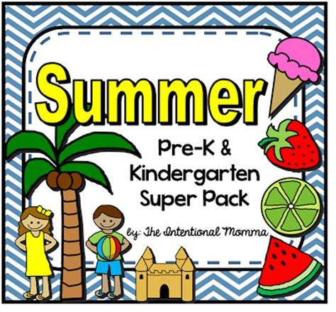summer theme for preschool the 50 page summer themed printable unit for pre k and