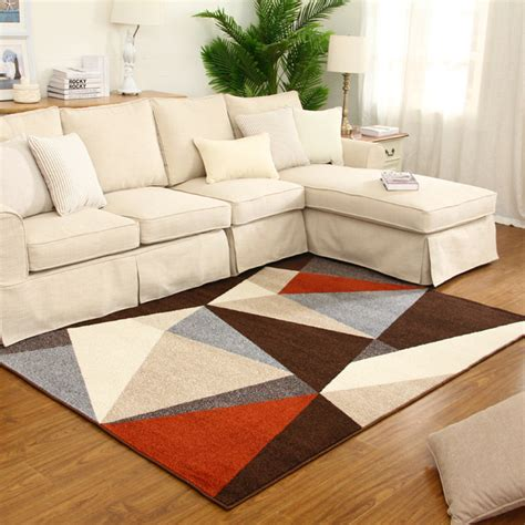 rugs modern living rooms aliexpress buy modern living room geometry rug