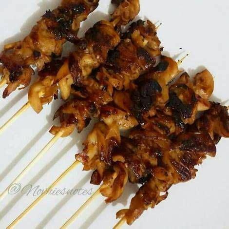 sate jamur tiram resep  gambar resep makanan