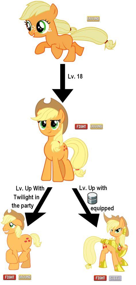 lade megaman applejack evolution line my pony friendship is