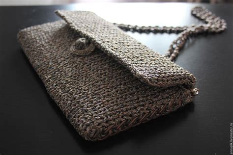 Handmade Clutch - clutch bag knitted shop on livemaster with