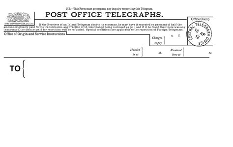 telegram template useful 1920s 1930s typefaces newspaper resources and