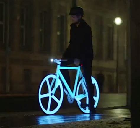 glow in the paint for bikes diy how can i make a glow bike bicycles stack exchange
