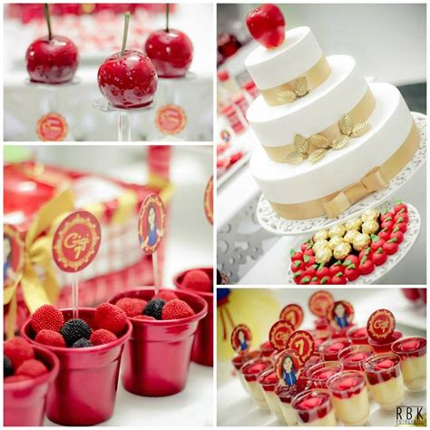snow white party ideas kara s party ideas