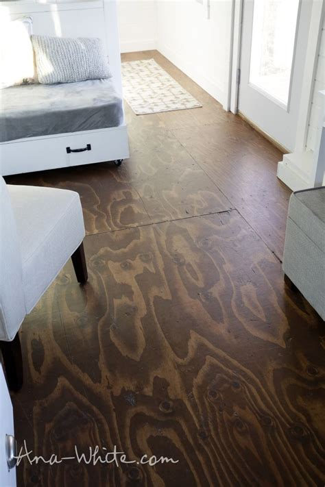 25 best ideas about stained plywood floors on