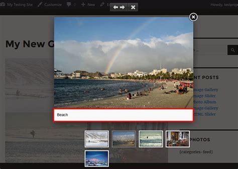 tutorial lightbox wordpress how to create a lightbox with caption in wordpress
