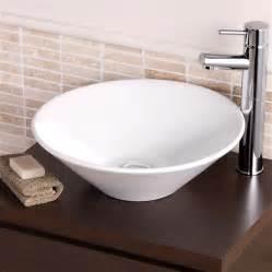 cloakroom bathroom counter top basin sink stylish bowl
