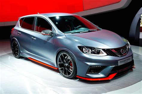 nissan pulsar nissan pulsar nismo concept is hatch forbidden fruit