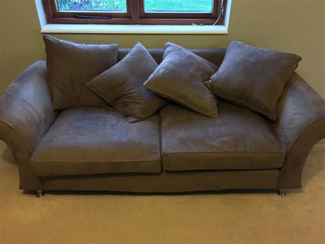 cleaning faux suede couch carpet upholstery cleaning before after photos