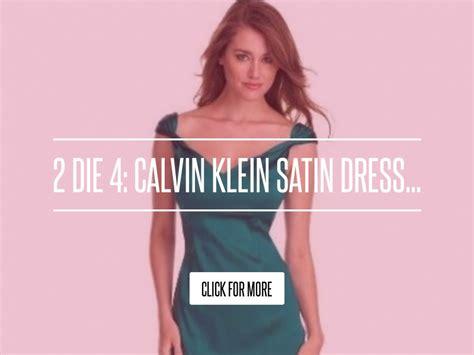 2 Die 4 Calvin Klein Satin Dress by 2 Die 4 Calvin Klein Satin Dress Fashion