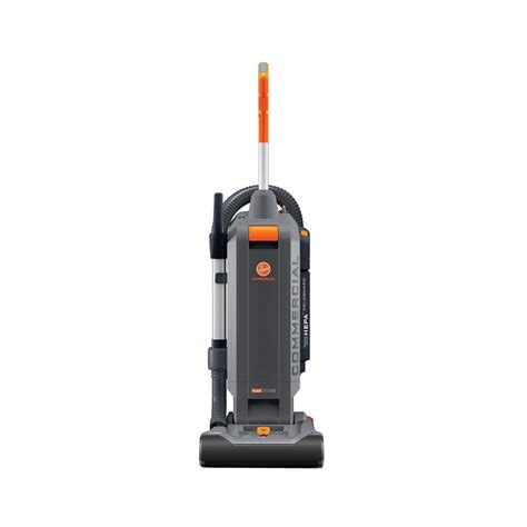 commercial model vacuum hoover commercial hushtone 13 in hard bagged upright