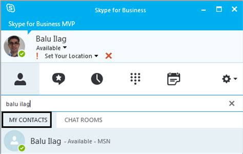 How To Search For On Skype Unable To Search Contacts In Skype For Business