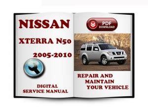 service and repair manuals 2008 nissan xterra on board diagnostic system nissan xterra 2005 2007 2008 2010 workshop service repair manual pdf download
