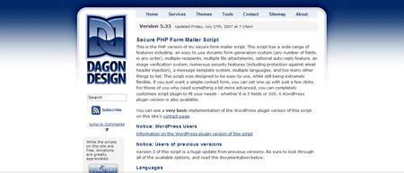 dagon design form mailer acontecimentos 27 09 2007