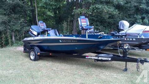 hydra sport bass boats 1990 hydra sports 19 bass boat for sale in jonesboro