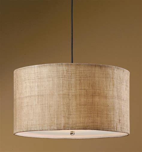 Burlap Pendant Light with Dafina 3 Light Burlap Drum Pendant 21933 Lighting Fixtures