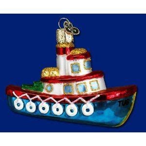 tugboat ornament tug boat christmas ornament nautical pinterest tug